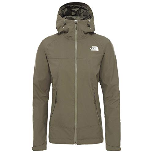 The North Face Donna Stratos Giacca M New Taupe Green