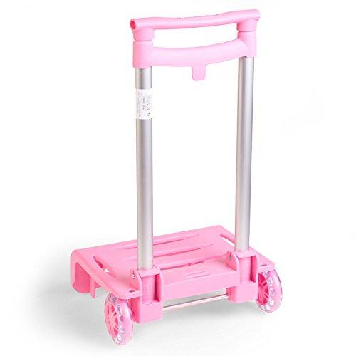 BUSQUETS - Carrello per zaino di scuola. Colore: rosa