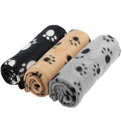 Digiflex 3 x Grandi Coperte in Morbido Pile - per Cani, Gatti, Conigli E Altri Animali Domestici -...
