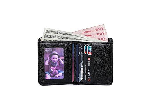 HIDE & SLEEK Black Men's Wallet (5060354110308)