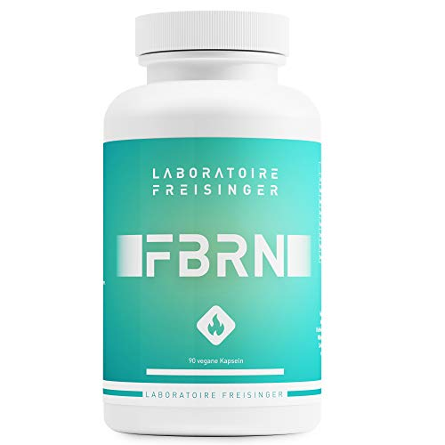 ABNEHMEN Fettverbrenner FBRN Hochdosierte Kapseln, Vegan, mit L-Carnitin, Koffein und 5 weiteren Zutaten, Fettverbrennung in der Diät, Stoffwechsel, Appetitzügler