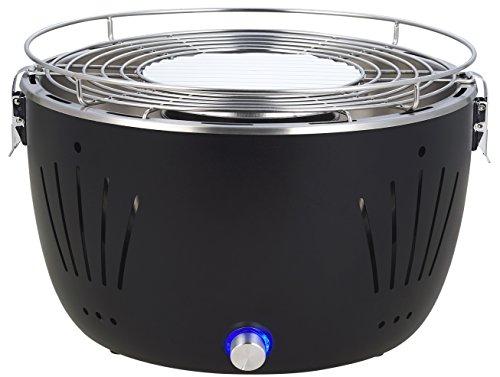 Durandal Barbecue Portatile ventilato Barbecue Carbone casa o Campeggio | BBQ Portatile Senza Fumo...