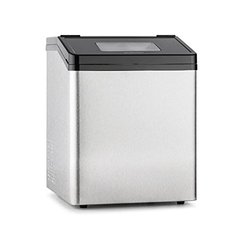 Klarstein Powericer ECO 3 macchina per il ghiaccio (fabbricatore di cubetti di ghiaccio in due...