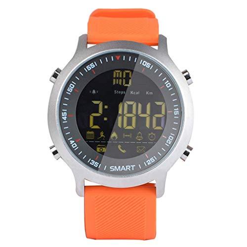 SSXZ Smart Watch IP67 Impermeabile Smart Watch Supporto Avviso di Chiamata e SMS Pedometro attività...