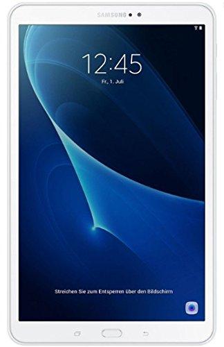 """Samsung Galaxy Tab A - Tablet de 10.1"""" FullHD (WiFi, Procesador Octa-Core Cortex-A53, 2 GB de RAM, 16 GB de Almacenamiento, Android 6.0); Blanco"""