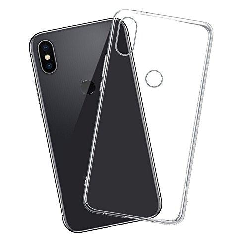 Funda Xiaomi Redmi Note 5/Note 5 Pro, Carcasa TPU Funda Anti-Rasguño Anti-Golpes Cover Protectora TPU Caso Bumper Slim Silicona Case Para Redmi Note 5 Pro Protectora Funda - Transparente