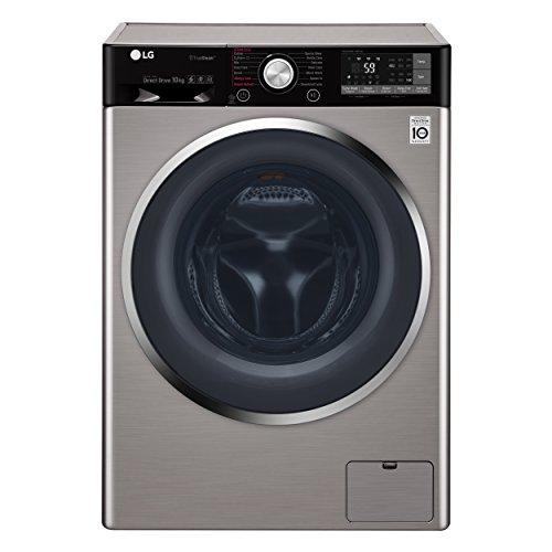 LG F4J9JS2T lavatrice Libera installazione Caricamento frontale Grigio 10 kg 1400 Giri/min A+++-40%
