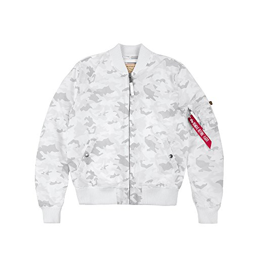 Alpha Industries MA-1 TT Giacca Bomber white camo