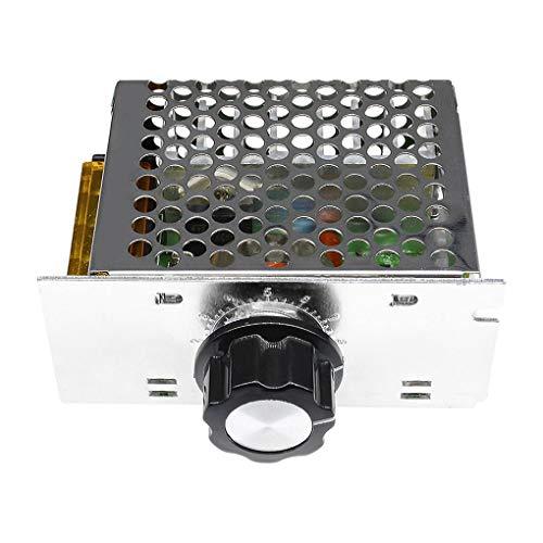 Uzinb Controller Module 4000W 220V AC SCR velocità del Motore di Tensione elettronico Regolatore...
