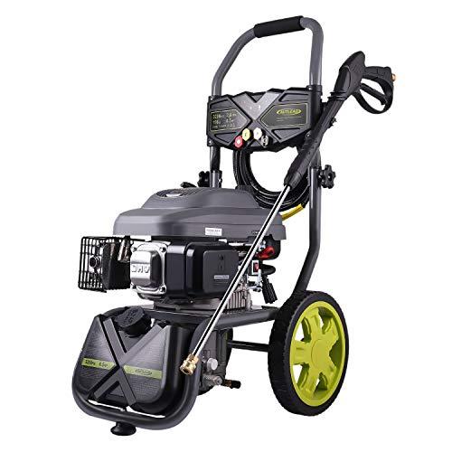 AUTLEAD Idropulitrice a Benzina, GSH01A 220 Bar 590 L/H 6.6 CV 196 CC Potente Motore pulitore ad...