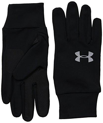 Under Armour, Ua Armour Liner Glove, Guanti, Unisex - Adulto, Nero (Black/Black/Steel 001), M