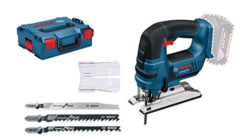 Bosch Professional Akku-Stichsäge GST 18 V-LI (Ohne Akku, 18 Volt System, Schnitttiefe Holz: 120...