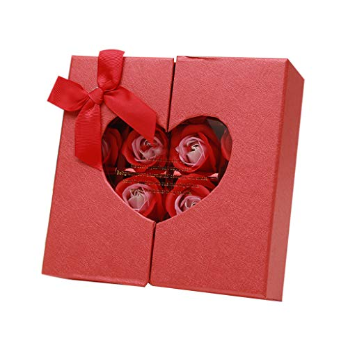 Ningsun Profumato Fiori del Sapone Rose,Fiore del Sapone Creativo Regalo per la Festa di Compleanno San Valentino