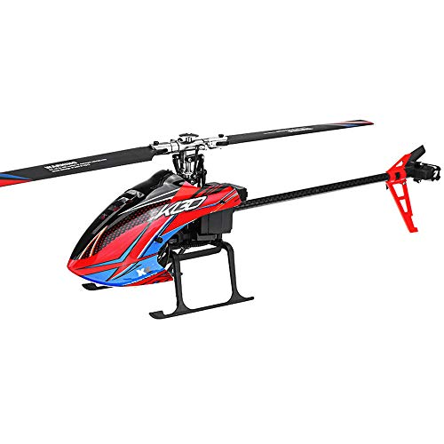RONSHIN RC Toys Multirotor XK K130 2.4G 6CH Brushless 3D6G System Flybarless RC Helicopter BNF Compatibile con FUTABA S-FHSS Senza Telecomando 2 Batteria