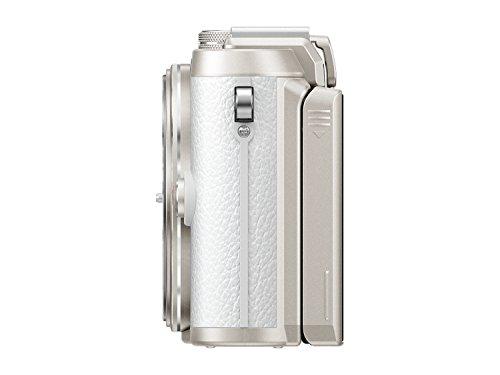 """Olympus PEN E-PL8 - Cámara EVIL de 16 MP (pantalla táctil abatible de 3"""", estabilizador, vídeo FullHD, WiFi), blanco - solo cuerpo"""