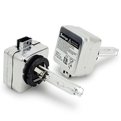 Safego 2 x Lampade D1S D1C Xenon Bulb allo Xeno HID Lampadina Faro di Ricambio 35W Impermeabile...