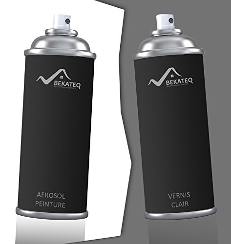 2x400ml peinture voiture aerosol pour volkswagen l902 grauweiss laque color vernis bekateq. Black Bedroom Furniture Sets. Home Design Ideas