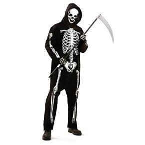 Desconocido My Other Me - Disfraz de esqueleto zombie, para adultos, talla M-L (Viving Costumes MOM02282)
