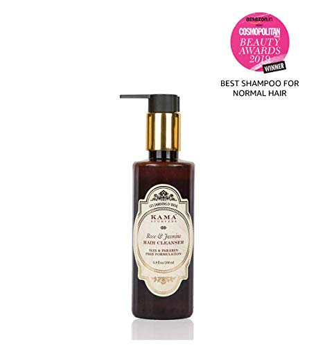 Kama Ayurveda Rose & Jasmine Hair Cleanser (Shampoo), 200ml 9