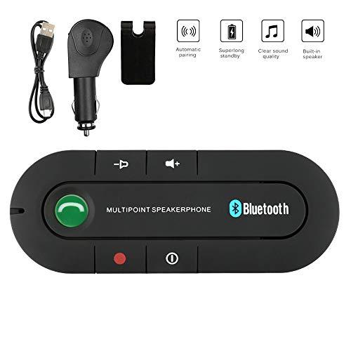 Kit Vivavoce Bluetooth per Auto senza fili per Altoparlante con Controllo Vocale Auto Bluetooth per...