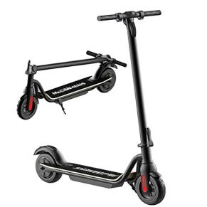 TB-Scooter Patinete Eléctrico de 250 W, 3 Modos de Velocidad, Neumáticos llenos de Aire de 8