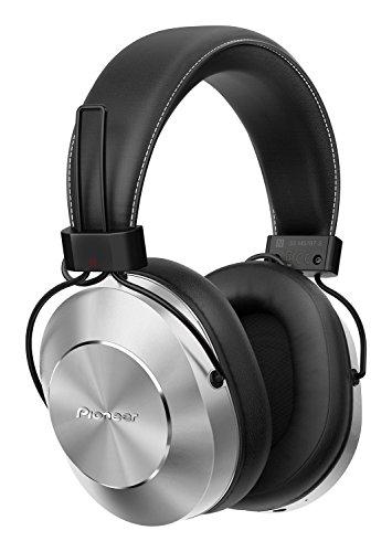 Pioneer SE-MS7BT-S - Auriculares de Tipo Diadema (Bluetooth, Hires, Power Bass, NFC), Color Plata