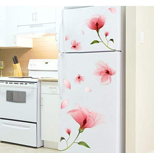 Carta da parati Personalità creativa Adesivi per frigorifero Adesivi decorativi per carta da parati...