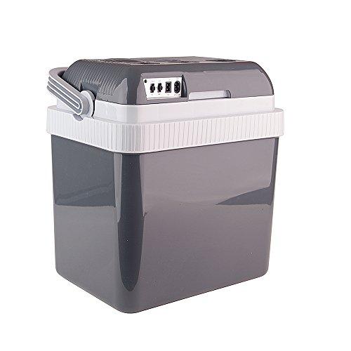 Auto Companion Elektrische Kühlbox, kühlt und wärmt, tragbar, 24 l, 240 V Wechselstrom & 12 V