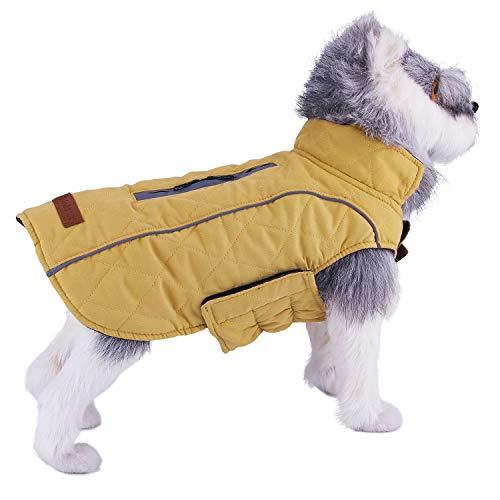 ThinkPet Cappotti e Giubbotti per Cani Cappottino Cane Reversibile - Caldo Resistente alle...