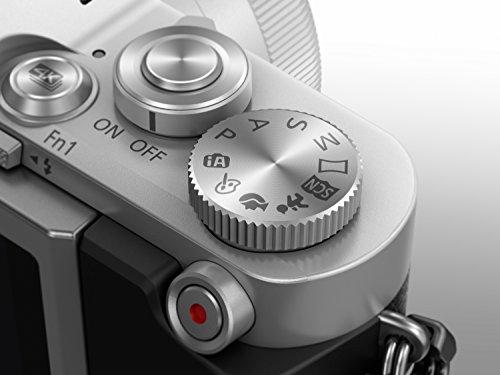 Panasonic Lumix GX800 con objetivo 12-32 F3.5-5.6 color plata (DC-GX800K)