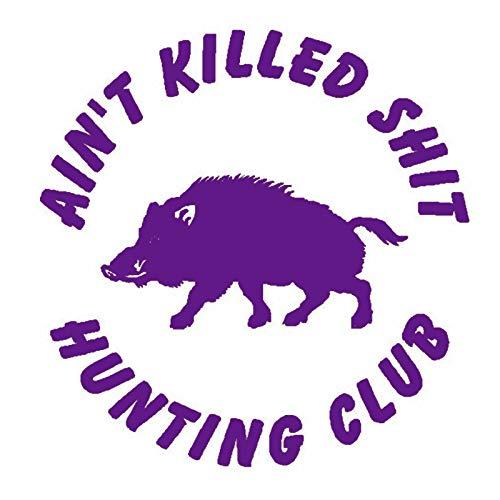 guijiumai Adesivo per la Caccia Car Hunting Shoot Boar Decal Hunter Shop Poster Decalcomanie da Muro...