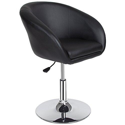 TecTake Sgabelli da bar moderni sgabello design cucina sedia regolabile - modelli differenti - (1x'Bernhard' | no. 401573)