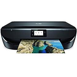 HP Envy 5030 - Impresora Multifunción Inalámbrica (Tinta, Wi-Fi, Copiar, Escanear, 1200 x 1200 PPP, Modo Silencioso, Incluido 3 Meses de HP Instant Ink) Color Negro