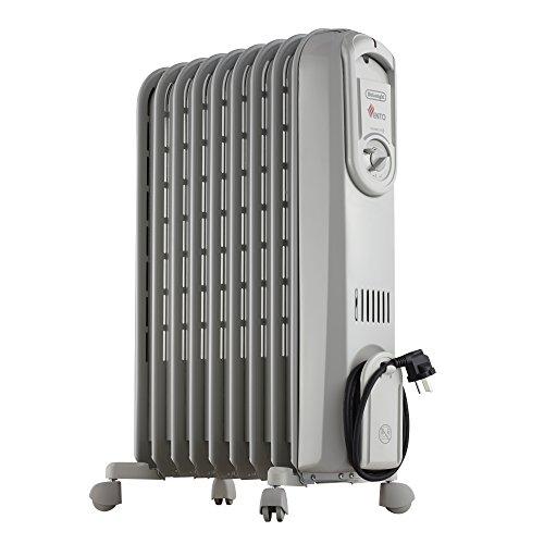 DeLonghi V550920 - Radiador de aceite, 2000 W, color gris