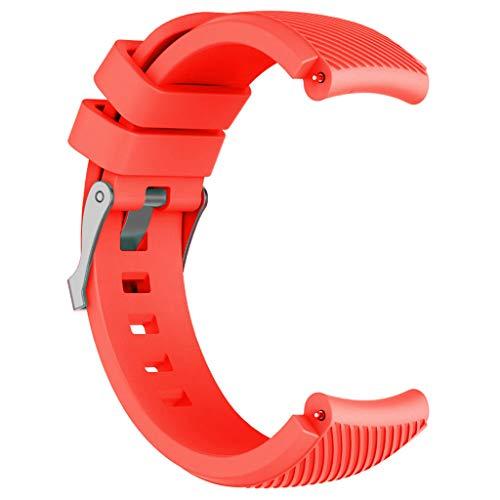 Cinnamou Cinturino da Polso in Silicone di Ricambio per Huawei Watch GT Smartwatch 22mm,Polso Applicabile 140-250mm