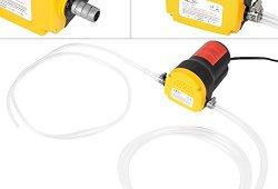 TecTake Pompe éléctrique à vidange extraction huile diesel aspiration kit auto 12V 60W Meilleure offre de prix