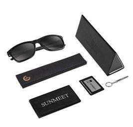 SUNMEET-Gafas-de-sol-Hombre-Polarizadas-Clsico-Retro-Gafas-de-sol-para-Hombre-UV400-Protection-S1001
