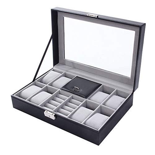 SXM Scatole for orologi , for 8 orologi Scatole portaoggetti Astucci for gioielli Scatole for...