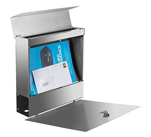 Frabox NAMUR Edelstahl Design Briefkasten - 3