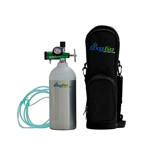 OxyGo Portable Ultra Light Medical Oxygen Cylinders (300 LITERS)