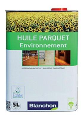 Blanchon - Huile pour parquet environnement - Coloris.Bois naturel - Cond. l.5 -