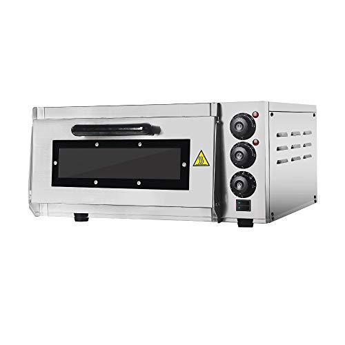 Professional Pizza Oven with 400 X 400 mm alla Pietra refrattaria Back Surface, Gastro pietra forno...