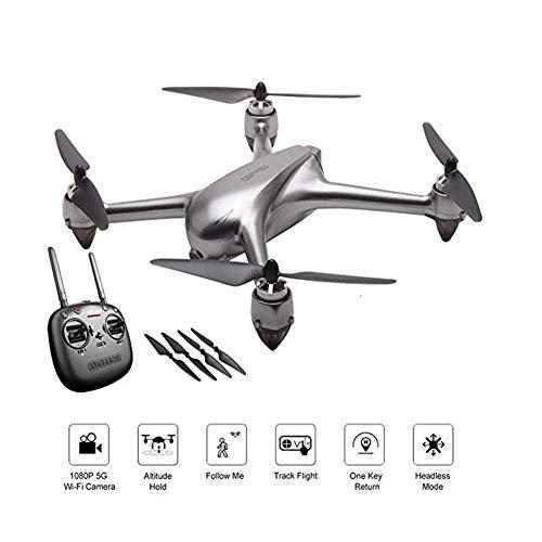 LXDDP Drone FPV con videocamera HD 1080P Video Live e GPS Ritorno a casa Quadcopter per Adulti...