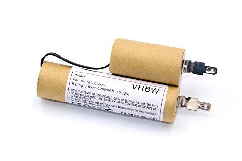 vhbw batería 3000mAh (3.6V) para Equipo de Jardinería, Tijeras Gardena Gardena Hierba, Tijeras de podar, Cortar el césped, etc por Batería3 (Accu3).