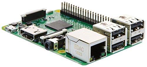 41A5k57soCL - Melopero Raspberry Pi 3 Official Starter Kit Black, con Cargador Oficial, Caja Oficial, microSD Oficial de 16GB con Noobs, Cable HDMI y disipadores