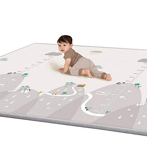 Tappeto per bambini, baby copertina per gattonare, per 12 – 36 mesi, non tossico 1 cm spessore...
