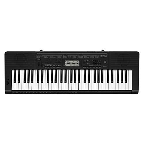 Casio CTK-3500 61-Key Portable Keyboard, Black 6