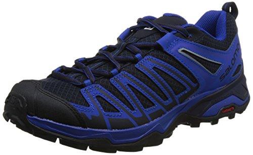 Salomon X Ultra 3 Prime, Zapatillas de Senderismo para Hombre, Azul (Night Sky/Surf The Web/Nautical BLU 000), 42 2/3 EU