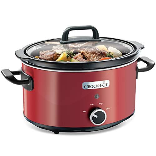 Crock-Pot Slow Cooker Pentola per Cottura Lenta, Capienza 3.5 Litri, Adatta Fino a 4 Persone, 210 W,...