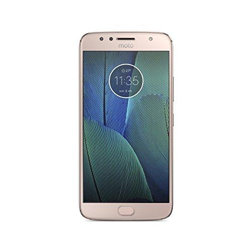 """Motorola Moto G5S Plus - Smartphone Libre de 5.2"""" Full HD, 3.000 mAh de batería, cámara de 13 MP, 3 GB de RAM + 32 GB de Almacenamiento, procesador Snapdragon de 2.0 GHz, Color Dorado"""